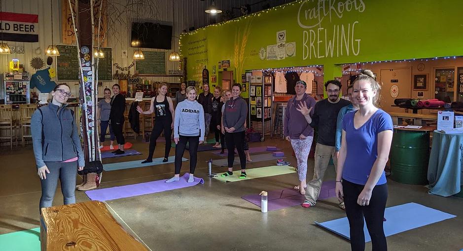 Beer Yoga 2019 - Image 1